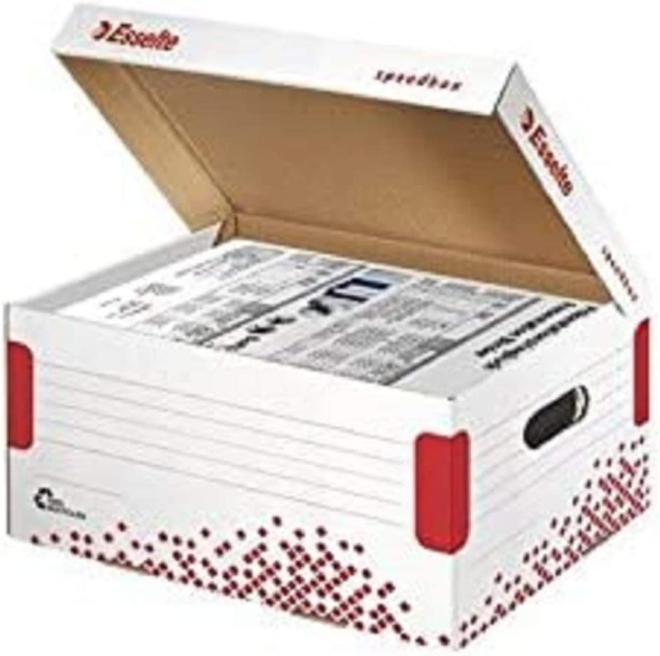 Esselte 10 kg Speedbox Storage and Transportation Box White
