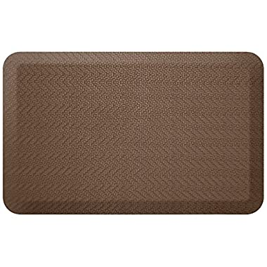 NewLife by GelPro Designer Comfort Mat, 20 by 32-Inch, Sisal Buffalo