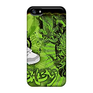 New Premium Flip Cases Covers Dc Fox Green Skin Cases For Iphone 5/5s