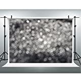 Maijoeyy 7x5ft Photography Backdrops Silver Halo Photo Booth Backdrop For Studio Prop Photo Background Photography Props CK-J00080-D
