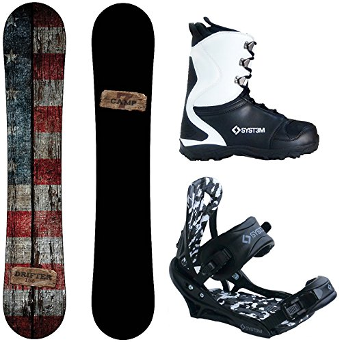 Camp Seven Drifter Snowboard Package