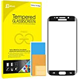 S6 Edge Screen Protector, JETech Full Screen Premium Tempered Glass Screen Protector Film for Samsung Galaxy S6 Edge (Black)