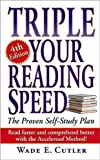 Triple Your Reading Speed (text only) 4th (Fourth) edition by W. E. Cutler