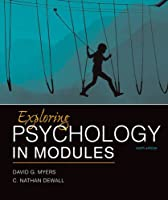 Exploring Psychology in Modules, 10th Edition
