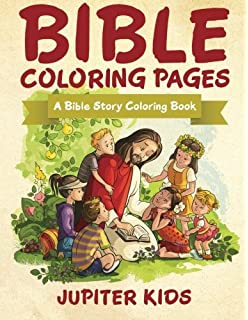 Bible Coloring Pages A Story Book