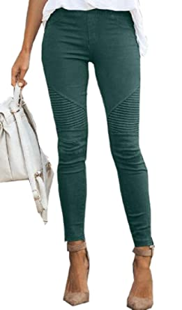 dahuo - Pantalones de chándal para Mujer, Informales, Ajustados ...