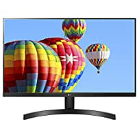 LG 27MK600M-B 27 Full HD IPS Monitor with Radeon FreeSync Technology and Virtually Borderless Design