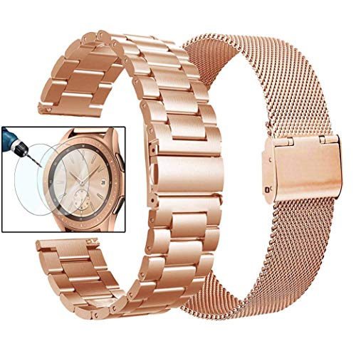 Valkit Compatible Galaxy Watch 42mm Band Rose