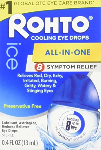 Rohto Eye Drops Cooling Relief 0.4 oz