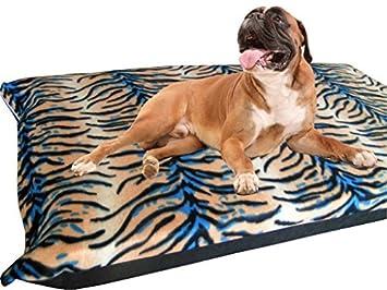 kosipet® grande Deluxe colchón de espuma de alta densidad impermeable cama para perro camas tigre