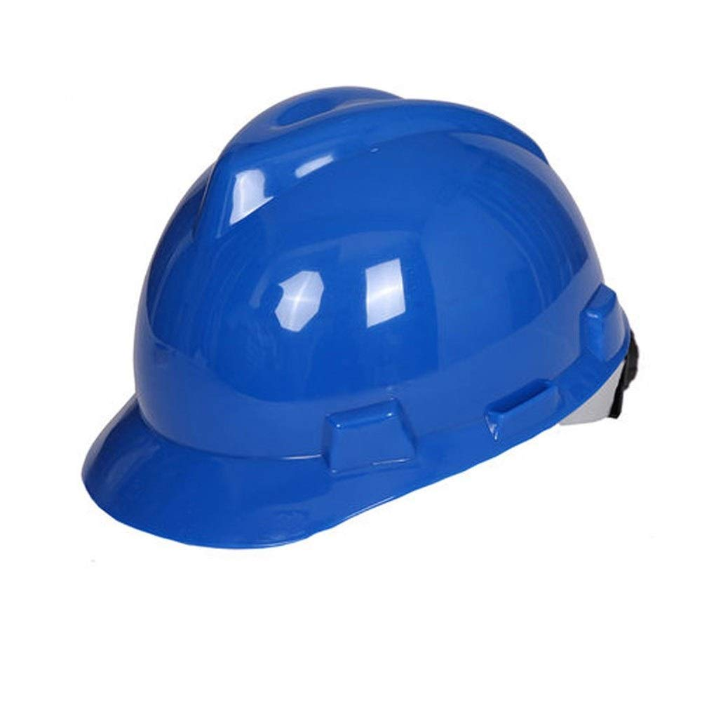 FEI JI Hard Hats - Adjustable Construction Helmet Head Protection Equipment Personal Protective Equipment, For Construction,Home Improvement And DIY Projects/PP Safety Accessories (Color : Blue)