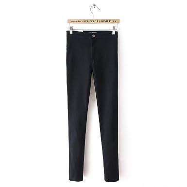 7775866a56d9 CARMELA HILL WILLIAMS Pants Vintage High Waist Jeans Women Casual Stretch  Skinny Jeans Femme Black Blue