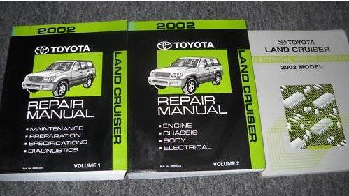 Read Online 2002 Toyota Land Cruiser Repair Shop Manual 2 Volume Set Original PDF