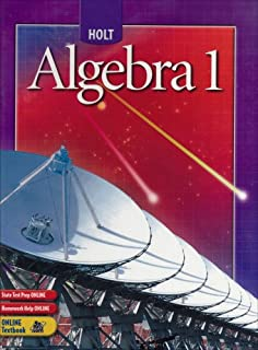 Printables Holt Algebra 1 Worksheet Answers holt algebra 1 teachers edition edward b burger david j student edition