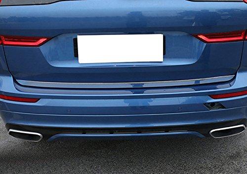 Acciaio INOX auto porta posteriore Tail Gate Molding copertura Trim 1PCS per auto di VVC6