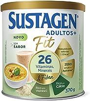 Complemento Alimentar Sustagen Adultos+ Fit Sem sabor - Lata 370g, Sustagen N&a