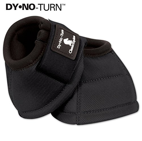 Classic Equine Dyno No-Turn Overreach Bell Boots Medium - Overreach Bell Turn Boots No