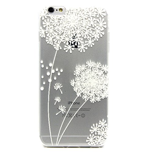 Price comparison product image Case for iPhone 6s Plus , Moonmini TPU Silicone Gel Back Cover Skin Soft Case for iPhone 6s Plus 5.5 inch , Dandelion