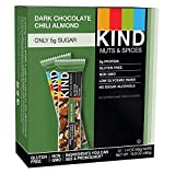 KIND Nuts and Spices, Dark Chocolate Chili Almond, 1.4oz (36 Bars)