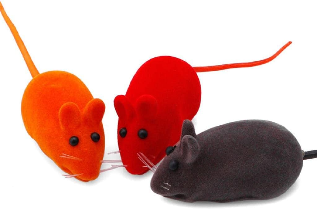 5 ratones, gatos, gatitos, juguetes, ratones falsos, sonidos, divertidos: Amazon.es: Hogar
