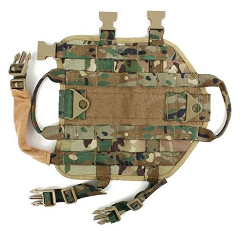 MD Group Dog Harness Army Tactical Dog Vests Hunting Training Molle Vest Outdoor Clothes by MD Group (Image #7)
