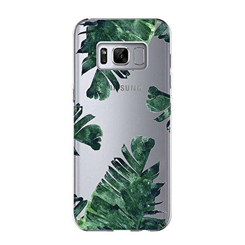 Price comparison product image Beryerbi Samsung Galaxy s8 Plus Case Transparent TPU Soft Slim Flexible Ultra Skinny Silicone Anti-Shock Protective Phone Cover (8, Galaxy s8)