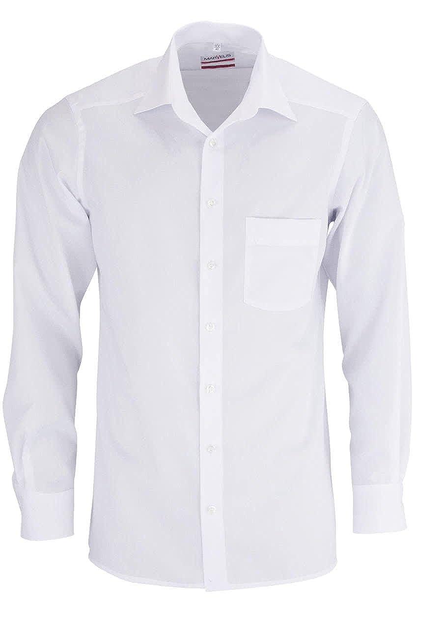 TALLA M. marvelis de camisa Modern de Fit (estrecho Interfaz) 4700Uni extra larga brazo