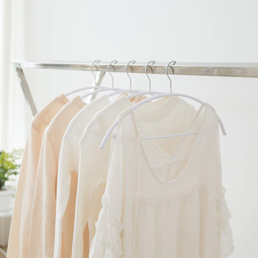 Cozyone ハンガー ジャケットハンガー スリムタイプ 人体ハンガー 10本組 洗濯 収納ハンガー 衣類が滑り落ちない 型崩れ防止 スリムハンガー