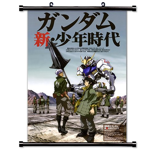 Mobile Suit Gundam Iron Blooded Orphans Anime Fabric Wall Scroll Poster  32X47  Inches