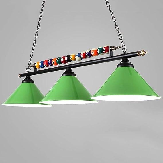 LIL lámpara de mesa de hierro personalizado lámparas de billar caf ...