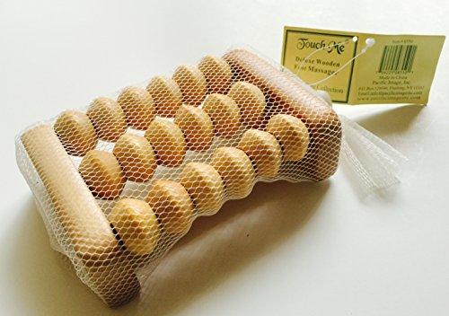 Touch-Me-TM-Wooden-Foot-Roller-Reflexology-Massager-Tool-For-Stress-Relief