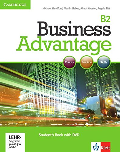 Business Advantage B2: Upper-Intermediate. Student's Book + DVD