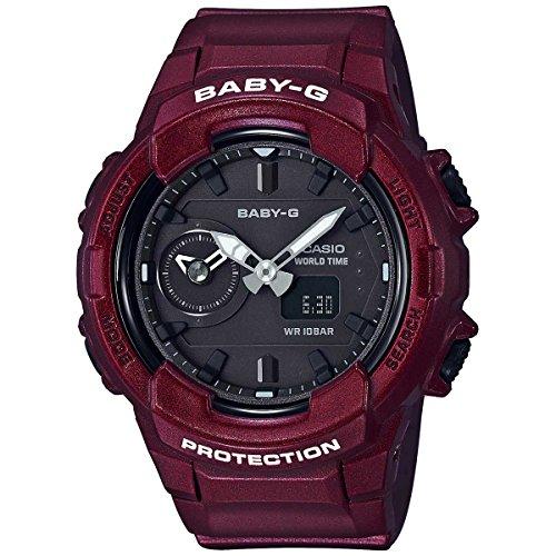 Casio Baby G Black Dial Polyurethane Strap Ladies Watch BGA-230S-4A