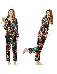 WL Silk Pajamas Set Ladies Pajamas Home Service Pajamas Satin Pijama Sexy Pajamas