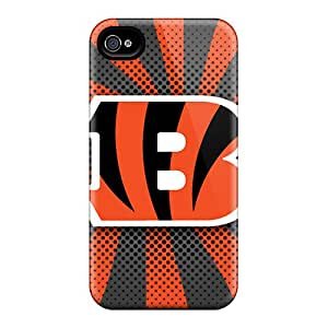 Fashion QvI31whsy Case Cover For Iphone 4/4s(cincinnati Bengals)