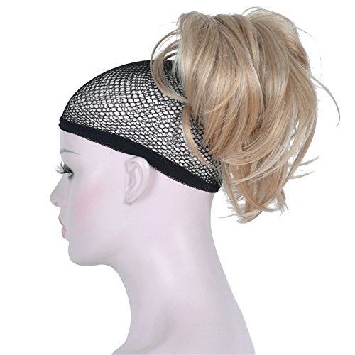 Wavy Blonde  Claw Clip On Ponytail Hair Piece