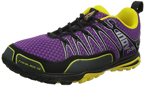 Innov-8 Trailrock 246 Scarpa Da Trail Running - Da Donna Viola / Grigio / Giallo