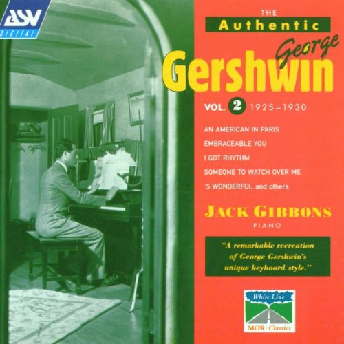 Authentic George Gershwin 2 by White Line
