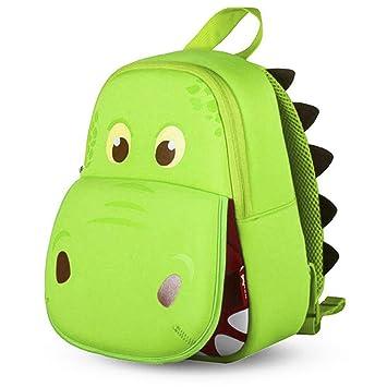 Amazon.com: OFUN Mochila de dinosaurio para niños pequeños ...