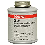 Loctite 51007 Copper LB 8008 C5-A Anti-Seize Lubricant, -20 Degree F Lower Temperature Rating to 1800 Degree F Upper Temperature Rating, 1 lb. Brush Top Can