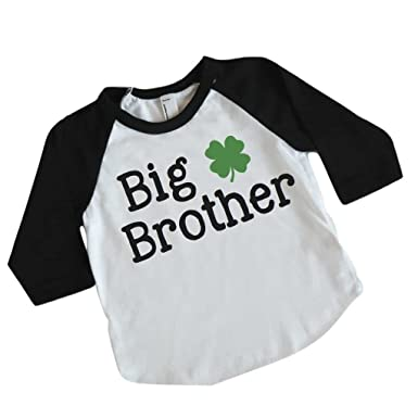 2266cff74 Amazon.com: Big Brother St Patrick's Day Shirt for Boys, Big Brother ...