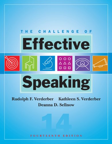 Download The Challenge of Effective Speaking (Available Titles CengageNOW) Pdf