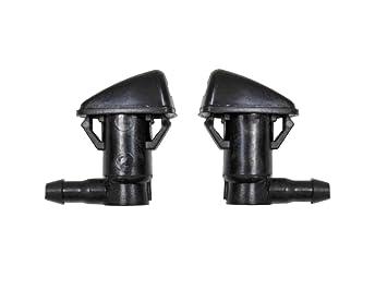 Par de delantero limpiaparabrisas limpiaparabrisas, boquillas de repuesto para Jeep Grand Cherokee 68260443 AA: Amazon.es: Coche y moto