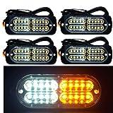 12-24V 20-LED Super Bright Emergency Warning