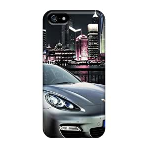 Iphone 5/5s Case Cover Porsche Panamera Shanghai 2010 Case - Eco-friendly Packaging