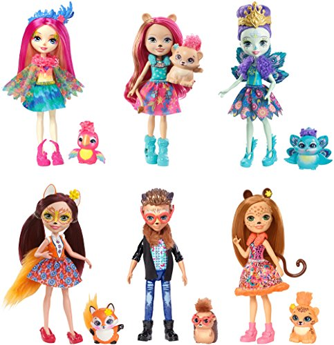 Enchantimals Natural Friends Collection Doll 6-Pack [Amazon Exclusive] -