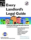 Every Landlord's Legal Guide, Marcia Stewart and Janet Portman, 1413300723