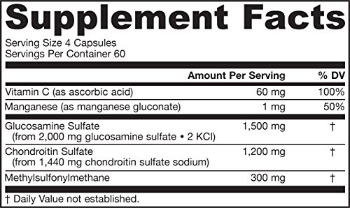 Jarrow Formulas - Glucosamine Chondroitin MSM 240 caps