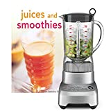 Breville Stainless Steel Hemisphere Control 48 Ounce Blender with Bonus Tuttle Juices and Smoothies Cookbook