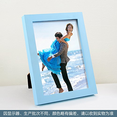 Sproud Solid Wood Photo Frame Creative Wall Hanging Single Frame Photo Frame,8 Inch,Light (Aperture Single Light)